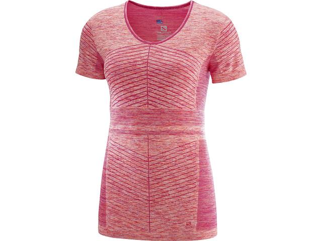Salomon Elevate Move'On Running T-shirt Women pink